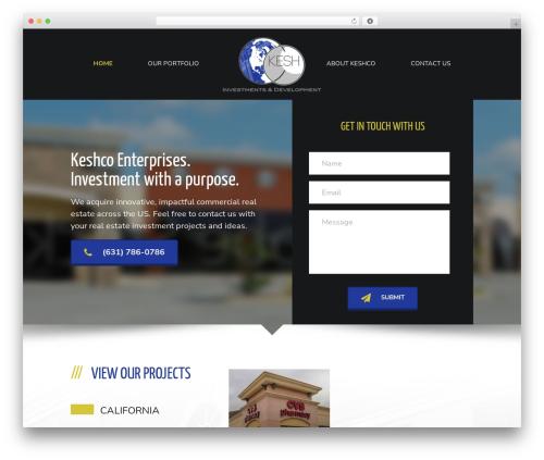 Big Splash Web Design theme WordPress - keshco.net
