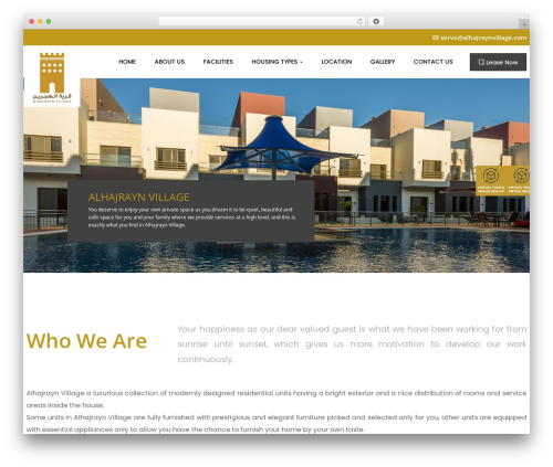 opalhomes WordPress theme - alhajraynvillage.com