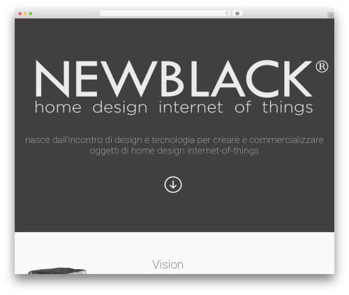 WordPress template Arcade Basic - newblack.it