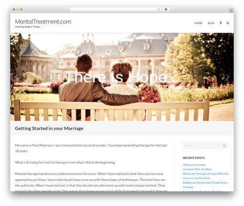 WordPress theme Ultra Premium - maritaltreatment.com