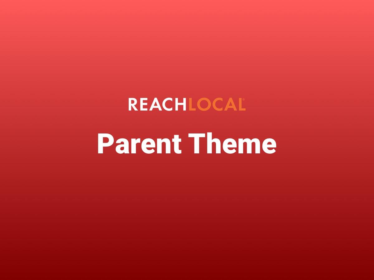 WordPress website template Reach Local