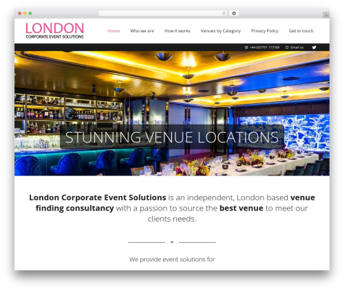 Best WordPress template Impreza - lcesolutions.co.uk