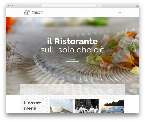 Best WordPress theme Betheme - trattoriacattivelli.it