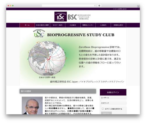 Best WordPress theme BSC - bsc-japan.jp