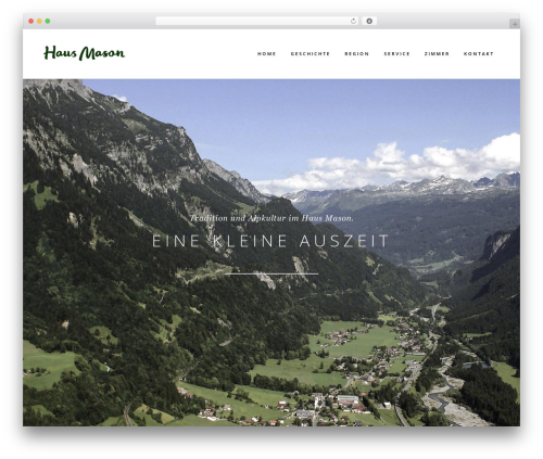 Bridge WordPress theme - haus-mason.at