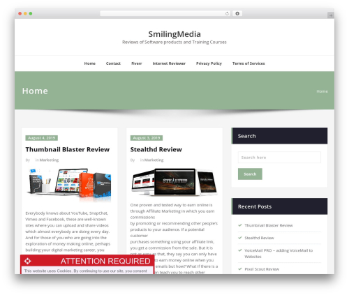 Content WordPress template free download - smilingmedia.co.uk