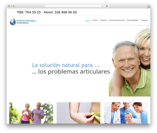 Dante WordPress theme - oscarguerrero.co