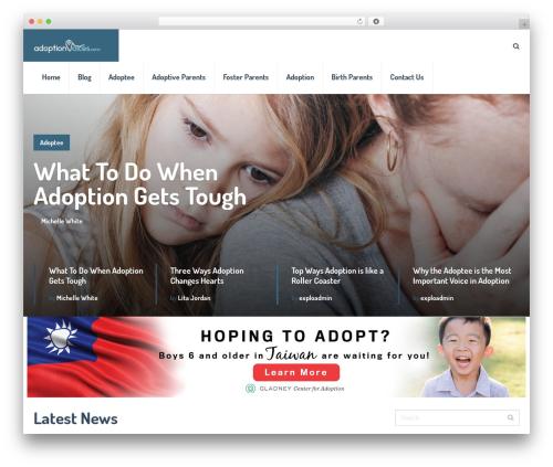 SocialNow by MyThemeShop WordPress store theme - adoptionvoices.com