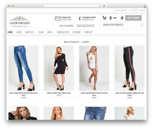 Bazar WordPress ecommerce theme by Your Inspiration Themes