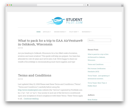 Penscratch 2 WordPress page template - studentpilot.com