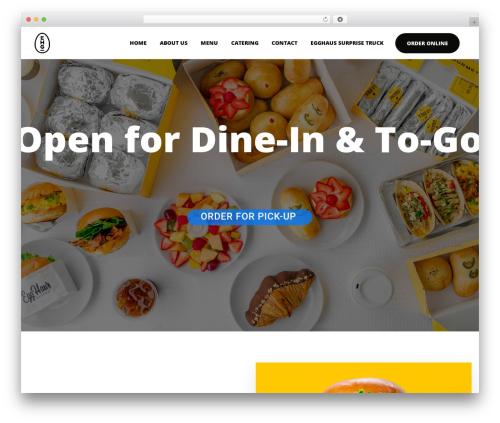 Picante WordPress theme design - egghaus.com
