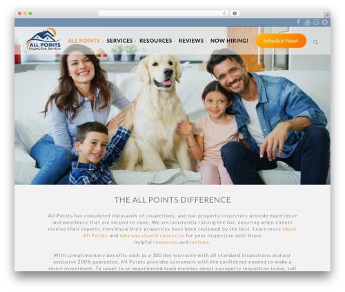 Bridge premium WordPress theme - allpointsinspects.com