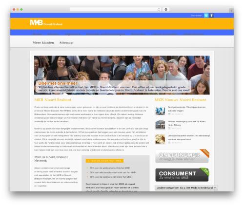 Modular best WordPress theme - mkb-in-noordbrabant.nl