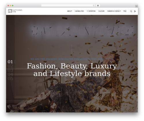 Movedo WordPress theme - switching-time.com