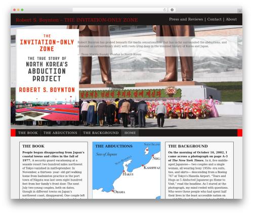 Responsive theme WordPress free - invitationonlyzone.com