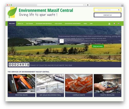Theme BMS WordPress theme - environnement48.fr