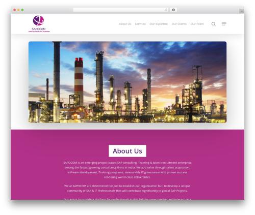 Theme WordPress Salient - sapocomglobal.com