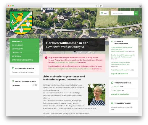 TownPress template WordPress - probsteierhagen.de