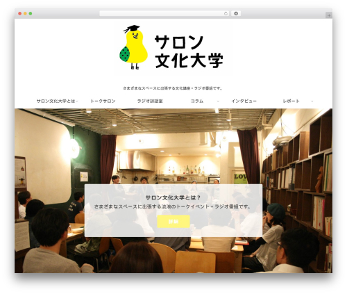 WordPress template Cocoon Child - salonandculture.kanotetsuya.com