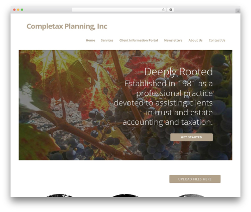 Ascension premium WordPress theme - completaxplanning.com