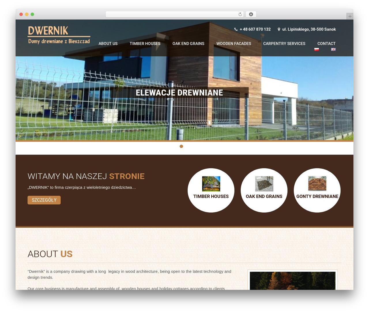 Coffee Pro WordPress theme - dwernik.eu