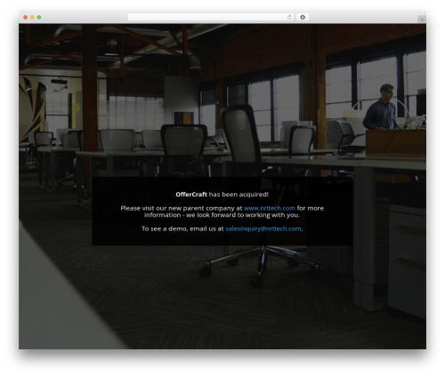Divi WordPress theme design - offercraft.com