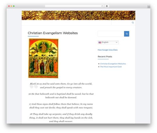 Socrates v5 WordPress theme - onegramgoldbullion.com