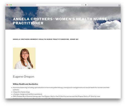 Chandigarh free WP theme - angelacrothers.com