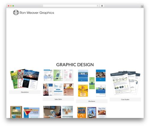 OceanWP premium WordPress theme - ronweaversportfolio.com