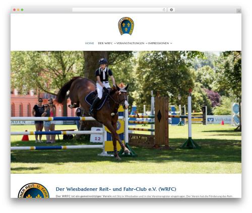 WordPress theme HorseClub - wrfc.de