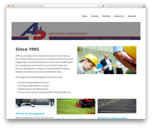 Ascension theme WordPress - goallprop.com