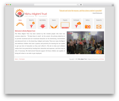 Best WordPress theme Trvl - nishumiglanitrust.org