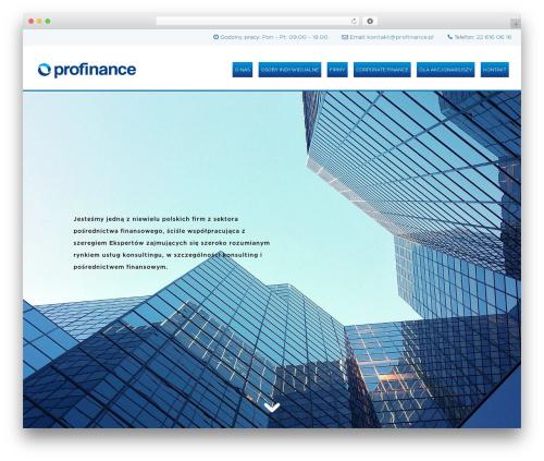 Sydney free website theme - profinance.pl