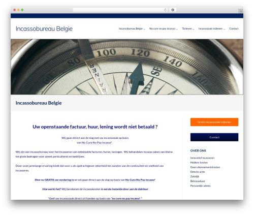 Ultra Premium WordPress theme - incassobureaubelgie.be