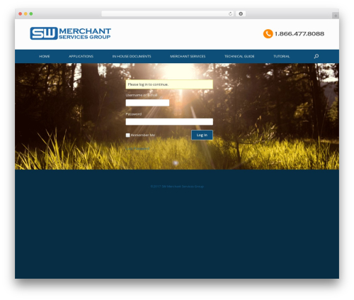 WordPress theme Child of vantage - swmerchant.org