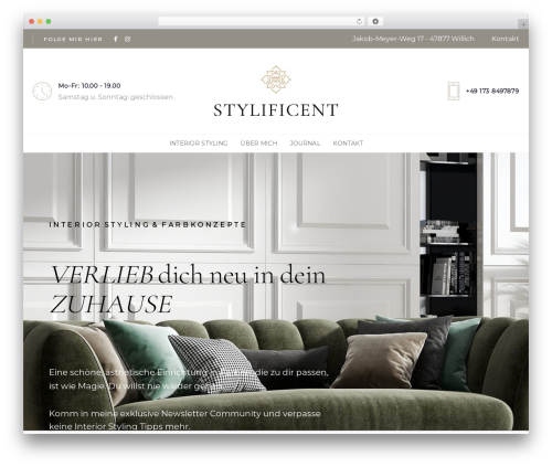AVE WordPress theme - stylificent.com