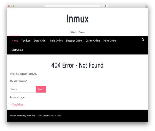 Latest WordPress template free download - lnmuxsh.com