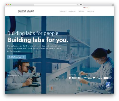 Pinnacle Premium WP theme - industriallaborum.com