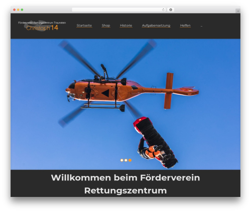 Theme WordPress Roadway - christoph-14.de