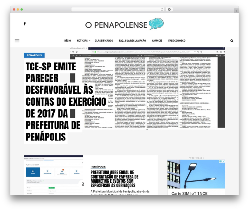 WP template Jawn - openapolense.com.br