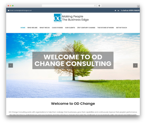 FO WordPress theme - odchange.co.uk