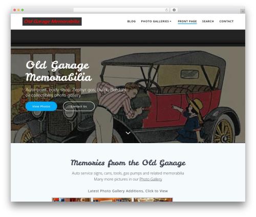 Highlight PRO template WordPress - oldgarage.com