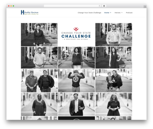 Theme WordPress Divi - healthyharrison.org