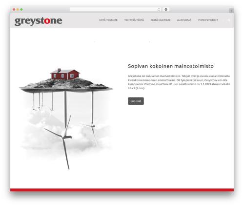 Theme WordPress Greystone - greystone.fi