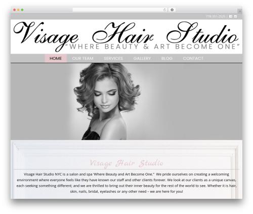 Twenty Twelve template WordPress free - visagenyc.com