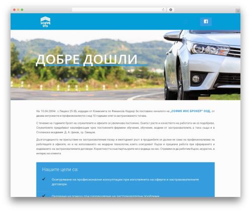 Template WordPress Betheme - sofins-broker.com