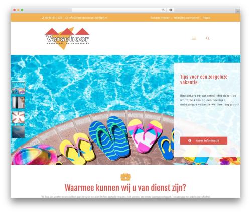 WordPress theme Betheme - verschoorassurantien.nl