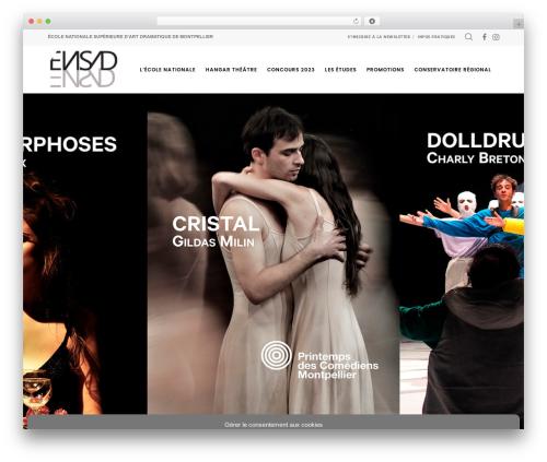 Movedo best WordPress theme - ensad-montpellier.fr