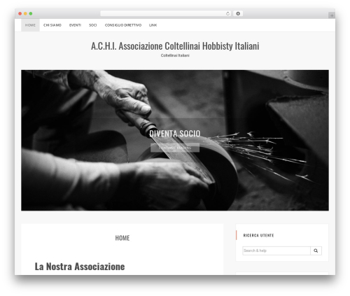 Sanremo free WordPress theme - achi.it