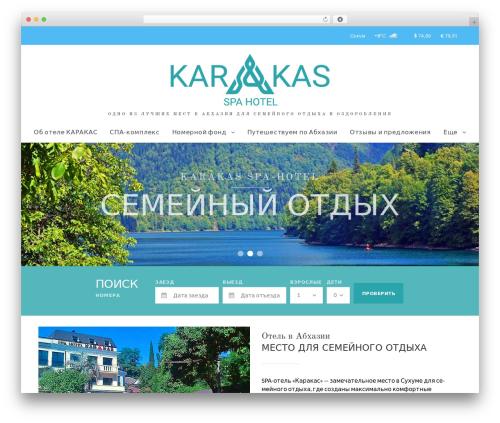 NiceInn template WordPress - spahotelkarakas.ru